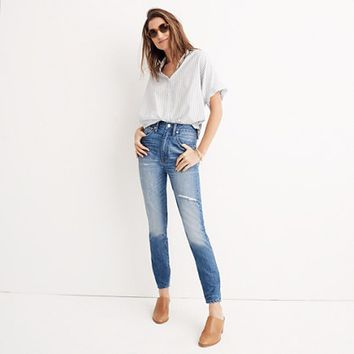 Rigid High-Rise Skinny Jeans