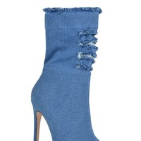 Nivia Booties - Dark Denim