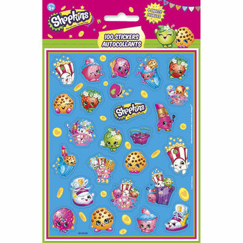 Shopkins Sticker Sheets [4 per Pack]