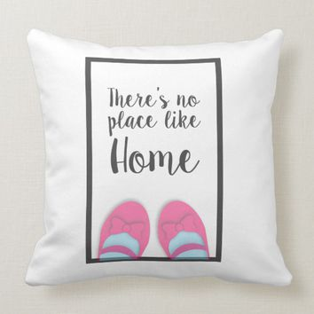 There's no place like home house warming gift cushion | Zazzle.co.uk