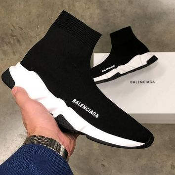 Balenciaga Woman Men Fashion Breathable Sneakers Running Shoes 5 Color-2