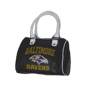 Baltimore Ravens NFL Cheer Ladies Handbag