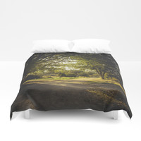 On the road again Duvet Cover by HappyMelvin
