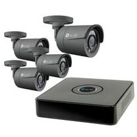 Security Cameras Direct - Alibi 4-Camera 700 TVL 65 ft IR Outdoor Video Security System with 500GB HDD