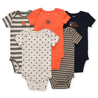 Carter's Baby Set, Baby Boys 5-Pack Short-Sleeved Bodysuits