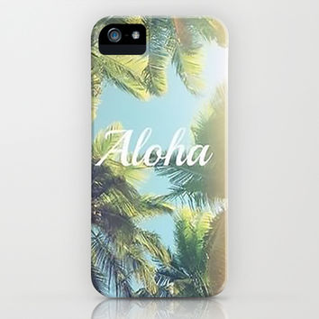 Aloha iPhone & iPod Case by Pink Berry Pattern