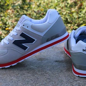"""""""New Balance"""" Sport Casual N Words Breathable Unisex Sneakers Couple Running Shoes"""