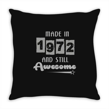 made in 1972 and still awesome Throw Pillow
