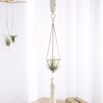 Hanging Geometric Himmeli Decoration Set
