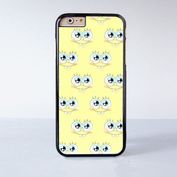 Spongebob Collection Plastic Case Cover for Apple iPhone 6S 6S Plus 6 6 Plus 4 4s 5 5s 5c