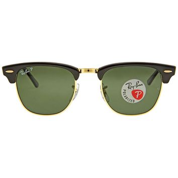 Cheap Ray Ban Clubmaster Classic Polarized Green Classic G-15 Sunglasses RB3016 outlet