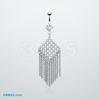 Luster Strands Belly Ring