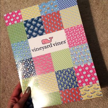 Vineyard Vines 2-Pocket Folder
