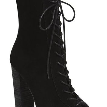 Kristin Cavallari 'Lawless' Lace-Up Bootie (Women) | Nordstrom