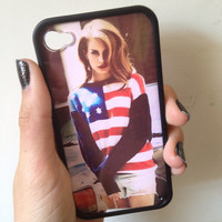 Lana Del Rey Case iPhone 44s by BluWatermelonDesigns on Etsy