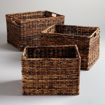 Madras Rectangular Baskets - World Market