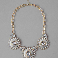 WINDLEA DAISY JEWELED NECKLACE