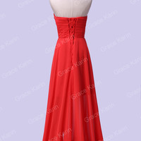 2016 High Low Split Evening Formal Bridesmaid Wedding Ball Gown Prom Party Dress