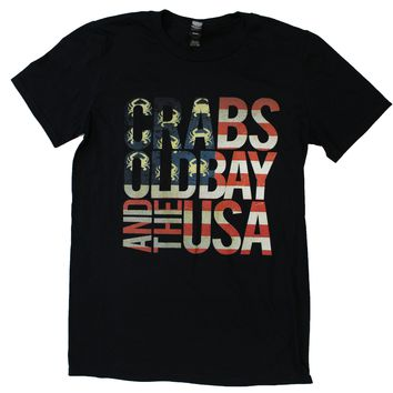 Crabs, Old Bay, & The USA (Black) / Shirt