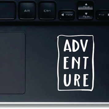 ADVENTURE Vinyl Decal,Vinyl Sticker, Car Window Decal, Laptop Decal, Water Bottle Decal, Phone Decal, Bumper Sticker, Traveling Decal
