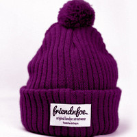 FriendnFoe Clothing Co.  — The Purple Bobble