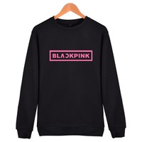 Korean Girl Group Blackpink Hoodies Sweatshirts Women Black Pink  Harajuku Sweatshirt Camisas Feminina KPOP Blackpink Clothes