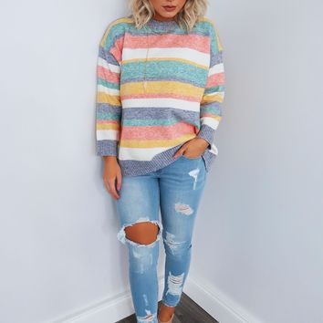 Straight Up Sweater: Multi