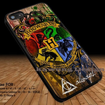 Hogwarts Harry Potter iPhone 6s 6 6s+ 5c 5s Cases Samsung Galaxy s5 s6 Edge+ NOTE 5 4 3 #movie #HarryPotter DOP284