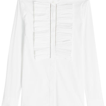 Blouse with Embellishment - Brunello Cucinelli | WOMEN | KR STYLEBOP.COM