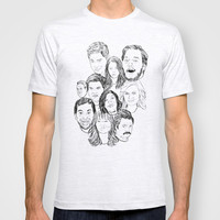 Parks and Recreation 'Rec a Sketch' T-shirt by Moremeknow