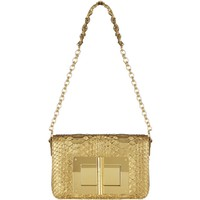 TOM FORD Large Square Python Natalia Shoulder Bag | Harrods