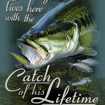 Catch of a Lifetime Personalized Print / Poster / Sign