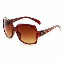 COACH Popular Women Men Summer Style Sun Shades Eyeglasses Glasses Sunglasses #2 Brown I13558-1