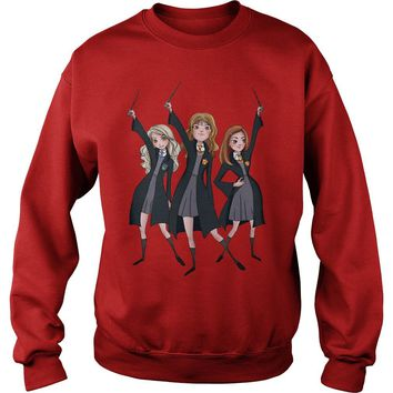 Hermione, Luna Lovegood, Ginny Harry Potter shirt Sweatshirt Unisex