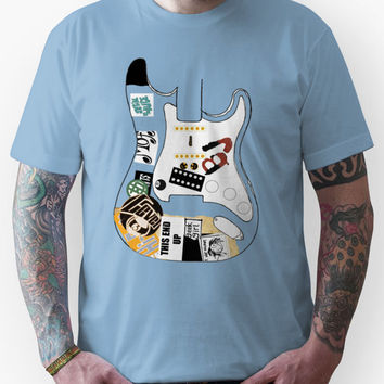 "Billie Joe Armstrong ""Blue"" Guitar - Any Colour  Unisex T-Shirt"