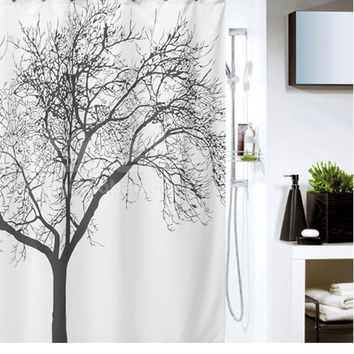 Tree 180*180cm Bathroom Shower Curtain