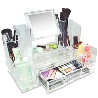 Ikee Design® Luxury Cosmetic Makeup Acrylic Organizer