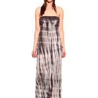 GYPSY WARRIOR - Garcia Tie-Dye Maxi Dress