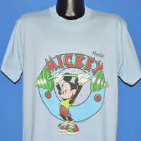 90s Mickey Mouse Body Builder Florida t-shirt Extra Large