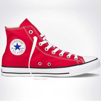 "Red ""Converse"" Fashion Canvas Flats Sneakers Sport Shoes"