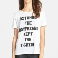 Women's MINKPINK 'Ditched the Boyfriend' Tee