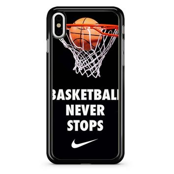 Basketball Cover iPhone X Case