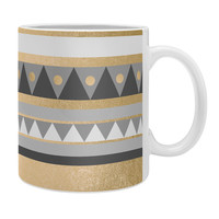 Elisabeth Fredriksson Golden Tribal Coffee Mug