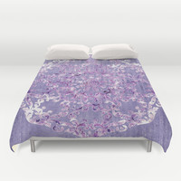 A Taste of Lilac Wine Duvet Cover by Octavia Soldani | Society6