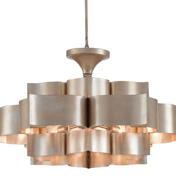 Currey Company Grand Lotus Chandelier