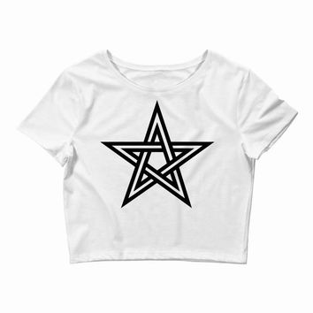 pentagram 2 Crop Top