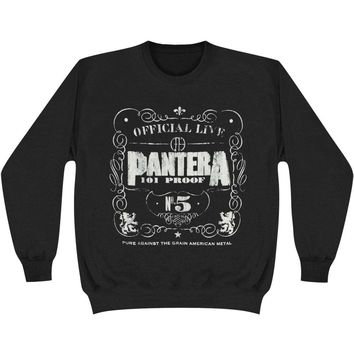 Pantera Men's  No. 5 Sweatshirt Black