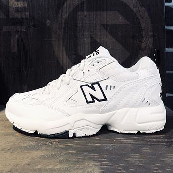 NEW BALANCE NB 608 New fashion couple running shoes White