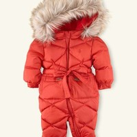 Fur Trimmed Snowsuit