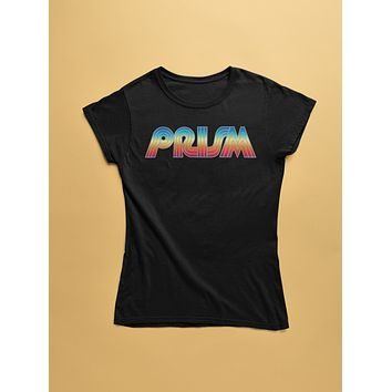 Retro Prism Womens Triblend T-Shirt